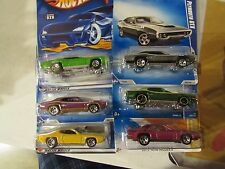 Hot Wheels lot of (6) '71 Plymouth GTX types! All Different