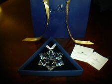 Swarovski 2016 CrystalStar Snowflake LargeAnnual Edition New with Paperwork