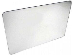 "1/8"" (3mm) Mirror Acrylic Plexiglass Plastic Sheet 12 "" x 12"" Grey Backing AZM"