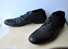Chronicles Of Never Blacknoise/Whiterain Leather Boots Shoes Sz 9 Rare Sold Out!