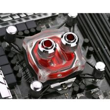 """G1/4"""" Base Inner Channel PC Water Cooling Block For Intel 775/1155/1150/1156 CPU"""