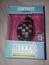 Bitty Boomers Fortnite Boogie Bomb Portable Bluetooth Mini Speaker