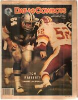 Dallas Cowboys Weekly Newspaper Sept 5, 1987 Center Tom Rafferty G