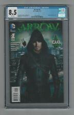 Arrow #1 CGC 8.5 VF+ DC Comics The New 52 1/13 Green Arrow TV Show