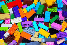 ☀️250 X LEGO 2x4 BRICKS MIX LEGOS ALL COLORS HUGE BULK LOT PARTS PIECES @ RANDOM