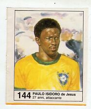 Figurina picture cards NEW IL GIORNALINO MUNDIAL 82 1982 N. 144 ISIDORO