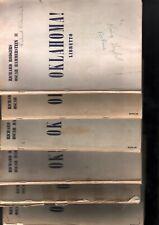 Oklahoma Libretto 6 Copies
