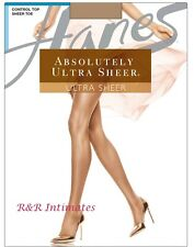 Hanes Absolutely Ultra Sheer Pantyhose, Q00707, Natural, Size A