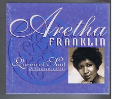 ARETHA FRANKLIN CD (NEW) 20 GREATEST HITS RESPECT I NEVER LOVED A MAN