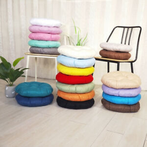 Round Cushion Chair Seat Pad Thick Office Garden Patio Home Mat Dining Room Soft