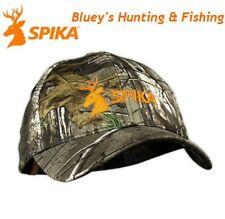 spika Hunting Shooting Mens Adults Realtree Xtra Camo /orange Cap H-300