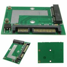 MSATA SSD to 2.5'' SATA III 3 Adapter Card Module Board mini PCIe Converter