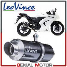 Exhaust Leovince Gp Corsa Carbon Fiber Kawasaki Ninja 250 R 2008 > 2012
