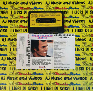 MC JULIO IGLESIAS America 1979 italy OXFORD OX 73133 no cd lp dvd vhs