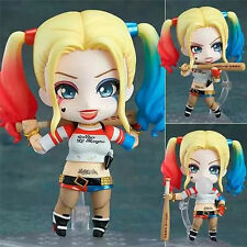 Anime Figma Nendoroid 672 Suicide Squad Harley Quinn PVC Figure Toy Gift Models