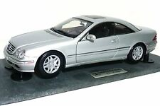 Rare Autoart Mercedes Benz CL500 Coupe Granite Base Dealer ED 1/18