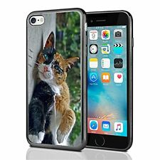 Lazy Cat With Blue Eyes For Iphone 7 (2016) & Iphone 8 (2017) Case Cover