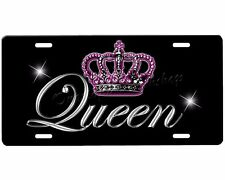 Queen Crown license plate