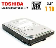HARD DISK INTERNO  3,5 TOSHIBA 1TB DT01ACA100 1000GB SATA3 6Gb/s 7200rpm