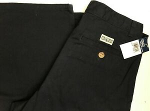 Ralph Lauren Polo Chino Pants Navy Blue Boys Size 14 NWT NEW w/ Tags 100% Cotton