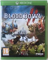 Blood Bowl II 2 Bloodbowl jeu Xbox One Version française TBE
