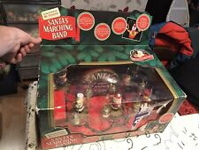 More details for mr christmas .. santa's marching band..boxed..vintage  plays 35 songs .via bells