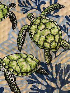 11X10X7 Medium Hawaiian Insulated/Gift Bag. Turtles.