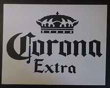 "Corona Extra Beers Beer 8.5"" x 11"" Custom Stencil FAST FREE SHIPPING"