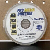 Pro Media Director For Sony For PSP - codebreaker - Free Shipping!