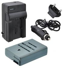 Decoded EN-EL14A Battery with Rapid Travel Charger for Nikon D3100, D3200,...
