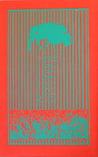 Buffalo Springfield Psychedelic Rock and Roll Poster