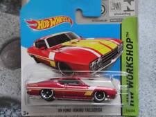 Hot Wheels 2014 # 235/250 1969 Ford Torino Talladega Rosso