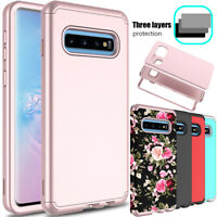For Samsung Galaxy S10 Case Shockproof Hybrid Rugged Hard Armor Slim Phone Cover