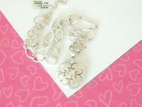 Brighton SATURN Versailles REVERSIBLE Necklace Silver New Tags $100