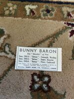M6-3 Ephemera 1945 Advert Theatre Bunny Baron The Rarebit