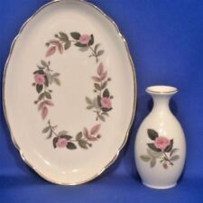 Unboxed Hathaway Rose Wedgwood Porcelain & China
