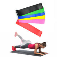 Set of 6 Exercise Resistance Loop Bands Mini Band Fitness Equipment for Arm Leg