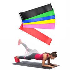 6er Set Fitnessbänder Sport- Fitnessband Widerstandsband Gummiband Gymnastikband