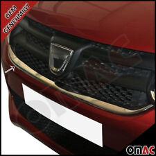 Chrom Edelstahl Grill Leisten Unten Dacia Sandero II ab 2012 Logan MCV ab 2014