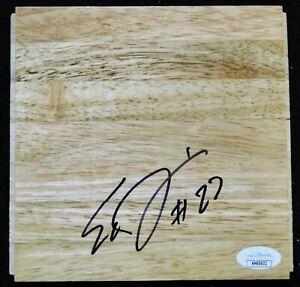 Walter Tavares Atlanta Hawks Signed 6x6 Floorboard JSA Authenticated