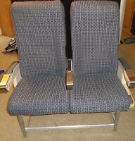 Vintage Delta Jetliner, Aircraft, Airplane Seats