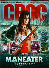5-Movie Maneater Collection: Croc: Godzilla of the Swamp / Grizzly Rage / Maneat