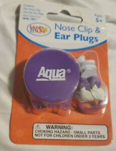 Aqua Nose Clip And Ear plugs With Carry Case Land n Sun