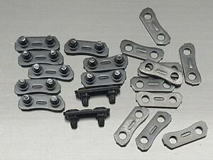 """10 x 3/8"""" Chainsaw Chain Repair Kits for 3/8-LP Type 91 Master Link Tie Straps"""