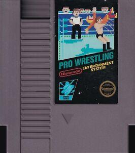 PRO WRESTLING (1987) nes nintendo black-label classic 5-screw us NTSC USA IMPORT