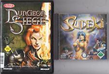 Sudeki Rollenspiel + Dungeon Siege Rollenspiele Sammlung PC Spiele