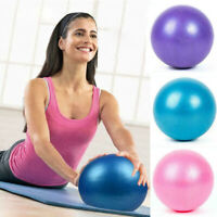 Yoga Ball Exercise Gymnastic Fitness Pilates Fitball Small PVC Women Balance