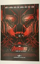 THE AVENGERS 2: AGE OF ULTRON (RED) MARVEL IMAX Exclusive Mini Poster-HTF