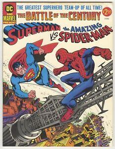 Superman vs Amazing Spider-Man #1 NM/M 9.8 HIGH GRADE Marvel/DC Comic Treasury