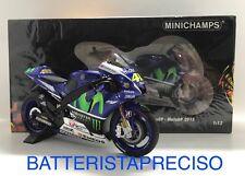 MINICHAMPS VALENTINO ROSSI 1/12 YAMAHA YZR M1 2015  MOTOGP 122153046 LIMITED ED.